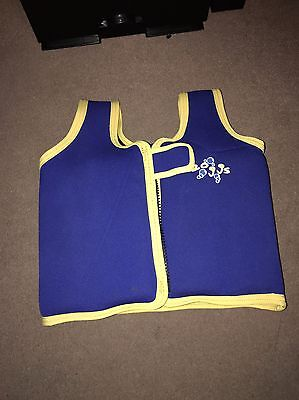 Childs Zoggs Swimming Float Vest 2-4 Years