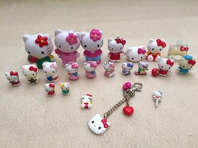 Hello Kitty miniature figures collection
