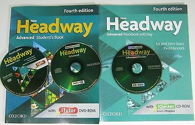 Oxford NEW HEADWAY Advanced Student's Book And Workbook Fourth edition with DVD
