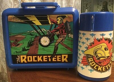 The Rocketeer Lunchbox And Thermos Bottle, 1991