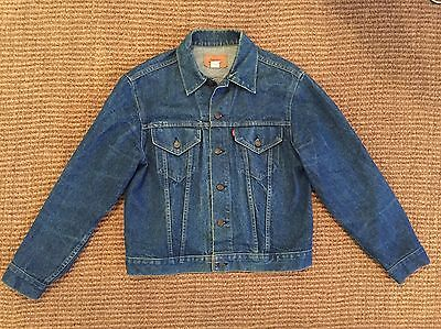 Levi's Denim Jacket Vintage Trucker Size 44 70505 0217 Made In USA
