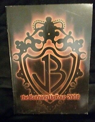 Program Book * JONAS BROTHERS * The Burning Up Tour 2008 * CONCERT