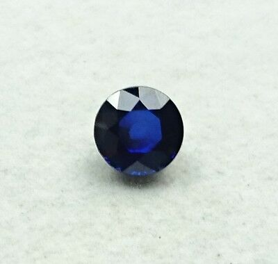Saphir facettés Rond- 3.49 carats - Oval sapphire GIA certified