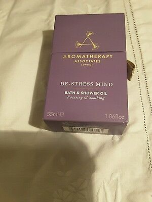 Aromatherapy Associates De-Stress Mind Bath and Shower Oil