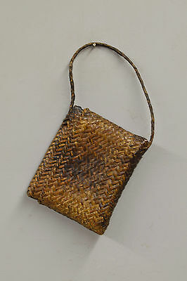 Wallet Money Rattan Woven Ifugao Personal Item Bag Philippines Woven Rattan