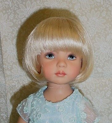 "Monique DOLL Wig ""Doris"" Size 7/8 - PALE BLONDE fits Effner Little Darling"