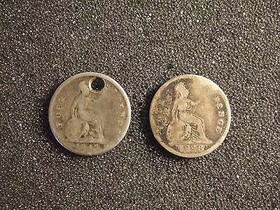 Victoria 2x Silver (.925) Four Pence (1 Groat) (KM# 731)