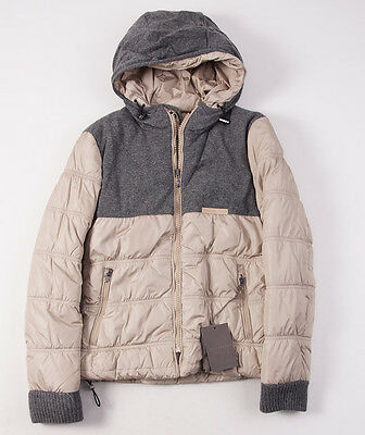 NWT $1250 BALLANTYNE Cashmere-Trimmed Reversible Hooded Down Jacket M/48 Italy