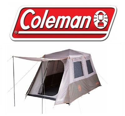 Coleman Instant Up 8 Tent Full Fly Quick Pitch New 2016/2017 Model - Sleeps 8