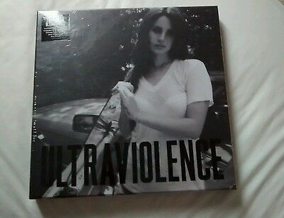 Lana Del Rey: Ultraviolence (2014) Limited Edition LP Box Set, New & Sealed