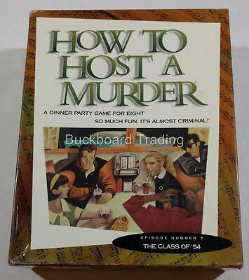 "How to Host a Murder Party Game Episode 7 ""The Class of 54"" Used FREE SHIPPING"