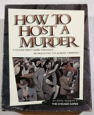 "How to Host a Murder Party Game Episode 5 ""The Chicago Caper"" Used FREE SHIPPING"