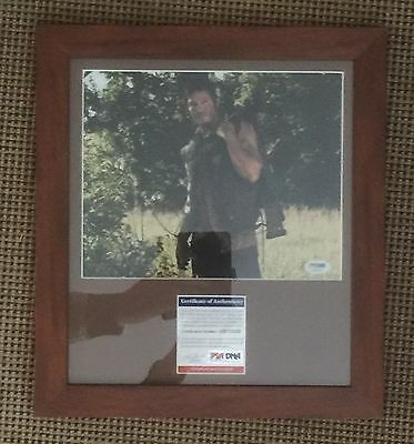 Norman Reedus - Signed - The Walking Dead - Daryl Dixon - 8x10 Photo PSA/DNA COA