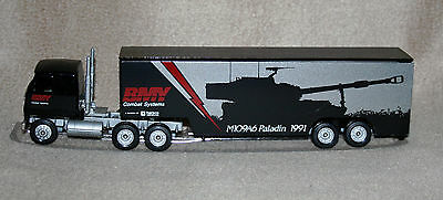 Winross BMY Combat Systems Paladin 1991 tractor trailer - new in box