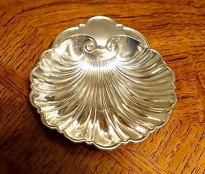Antique Gorham 445 Sterling Silver Sea Shell Nut Candy Bowl Vintage