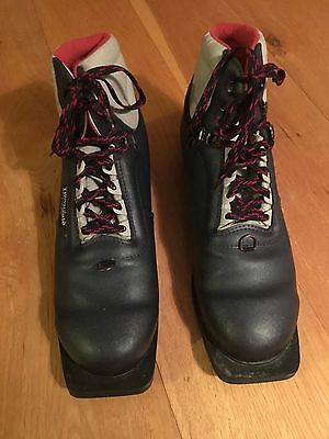 Pair of cross-country ski boots