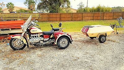 1998 Honda Valkyrie  Honda Valkyrie trike with trike kit and with trailer Florida loaded will trade