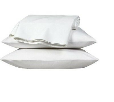 Extra Large luxury pillowcase Pair, White, To fit large pillow, box pillow,