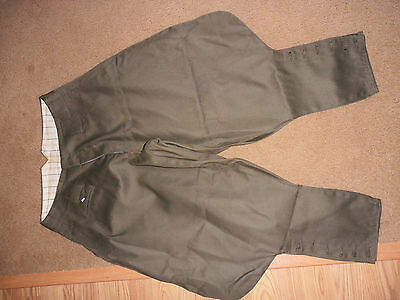 Vintage Japanese-made Olive Drab Military Style Cavalry Riding Breeches SEE PICS