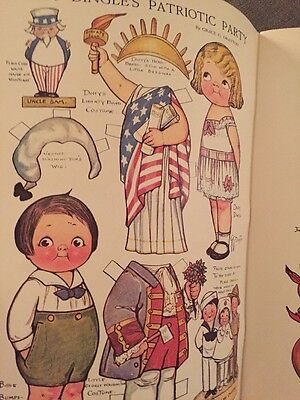 More Dolly Dingle Paper Dolls Full Color Reproductions Grace Drayton Dover 1979