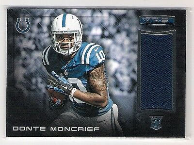 Donte Moncrief 2014 Panini Rookies & Stars Rc Rookie Jersey Card