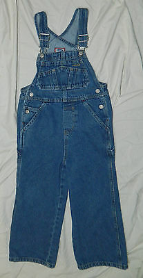 Youth Unisex Classic OLD NAVY Brand Denim Overalls size 4-5 / 26x17