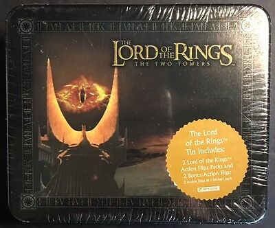 2002 The Lord of the Rings The Two Towers Collector Tin SEALED