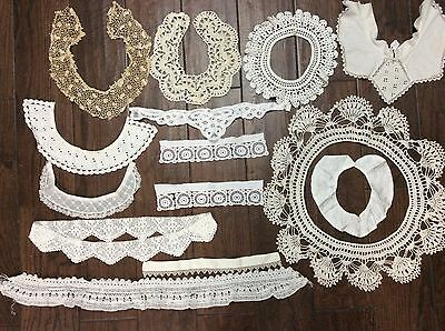 Vintage Antique Lace - Trims, Collars, Get For Custom Clothing