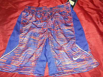 NWT Boys Nike Shorts Size 6 Dri Fit Red/Navy