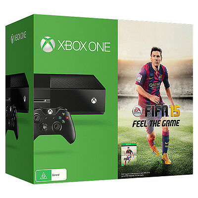 Xbox One console + 10 games and controller w/ charge pack