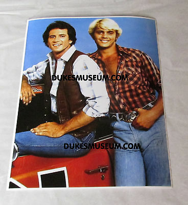 "Dukes of Hazzard  Bo & Luke Poster Photo  11"" x 14"""