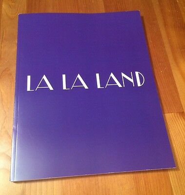La La Land Hand Signed Movie Screenplay Script  Fyc For Your Consideration