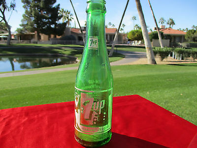 RARE Vintage in French 7 Up Bottle Swimsuit 7UP Seven Up Uncola (974)