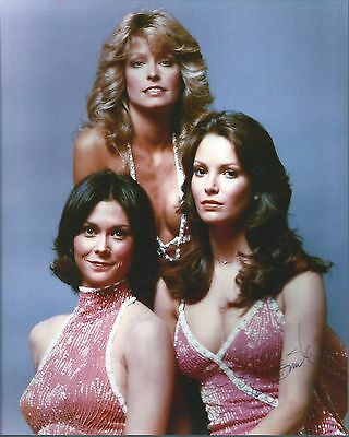 Jaclyn Smith Sexy Gorgeous Charlie's Angels Signed Authentic Autographed 8x10