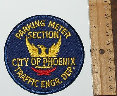 CITY OF PHOENIX Traffic Engineers Dept Parking Meter Section AZ Capital City