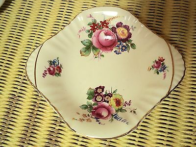 """Royal Doulton England small 5"""" sweets dish pretty  romantic floral pattern"""