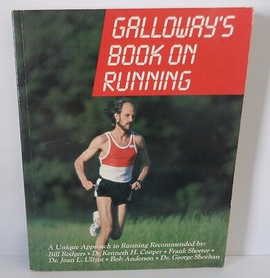 Jeff Galloway AUTOGRAPHED Book on Running NICE Autograph!