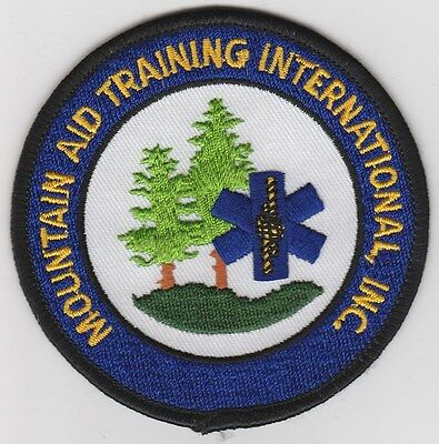 Mountain Aid Training International, Inc patch  Maine  defunct  Falmouth, ME