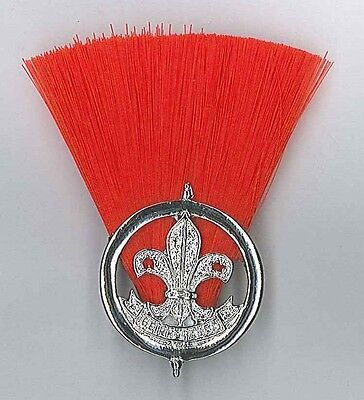 SCOUTS OF TOGO - 1st Issue Assistant Scout Master (ASM) Metal Plume / Hat Patch