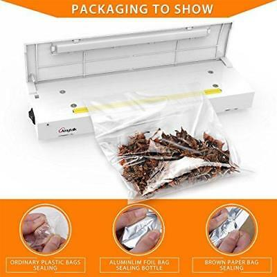 Amytalk Bag Heat Sealer - Family Mini Sealing Machine Food Saver for Plastic New