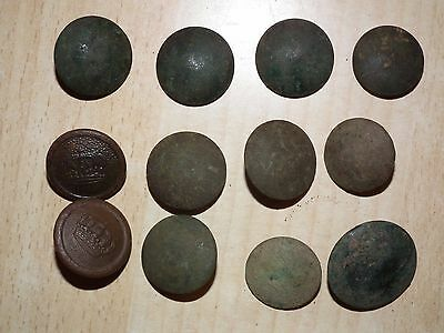 Ww1 Original German Soldiers Buttons, Battlefield Relic (441-1016)