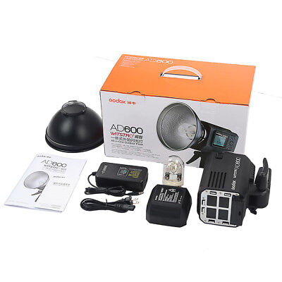 Godox Wistro AD600 TTL Powerful Outdoor Flash 2.4G X System Li-on Battery Flash