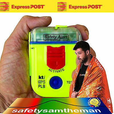 Kti Sa2G Epirb Plb Rescue Beacon With Armband Pouch And Survival Blanket