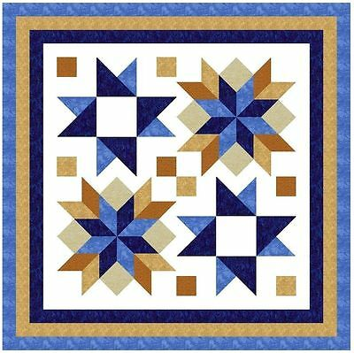 "DOOHICKEY - 52"" - Quilt-Addicts Pre-cut Patchwork Quilt Kit Lap"