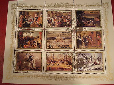 Asia - 1984 European Events - Minisheet - Unmounted Used - Ex. Condition