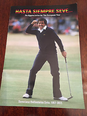 Hasta Siempre Seve - An Appreciation By The European Tour May 2011 Ryder Cup