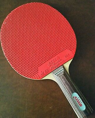 Double Happiness Table Tennis Bat Paddle