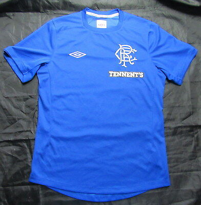 GLASGOW RANGERS home shirt jersey UMBRO 2012-2013  Scottish Club / men/ SIZE S
