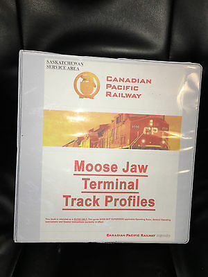 CPR Moose Jaw Terminal Track Profiles