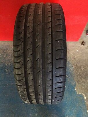 Part Worn 1x235/40R19(96W) Continental Conti Sport Contact 3 With 6.5-7 Mm Of